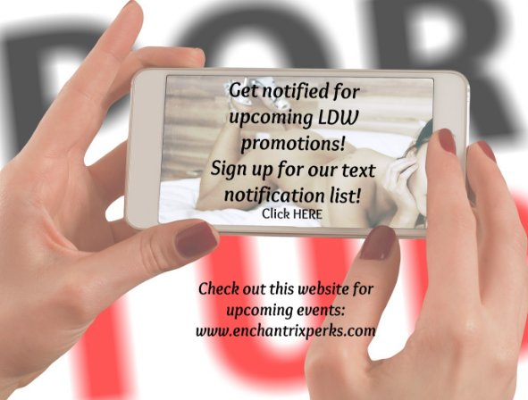 What's happening? Promotions and events, that's what's happening!